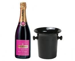 Piper Heidsieck Rosé Sauvage im Champagner Kübel 12% 0,75l Flasche - 1