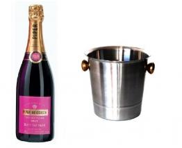 Piper Heidsieck Rosé Sauvage im Champagner Kühler 12% 0,75l Flasche - 1