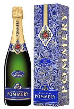 Pommery Brut Royal Champagner in Geschenkverpackung, saisonale Ausstattung Champagner, 0.75 l - 1