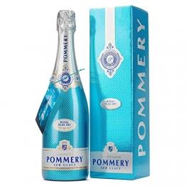 Pommery Royal Blue Sky mit Geschenkverpackung Champagner (1 x 0,75 l) - 1