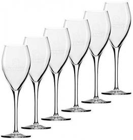 Taittinger Original Champagne Champagnerglas 0,1l - 6 Stück - 1