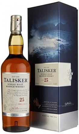 Talisker 25 Jahre Single Malt Scotch Whisky (1 x 0.7 l) - 1
