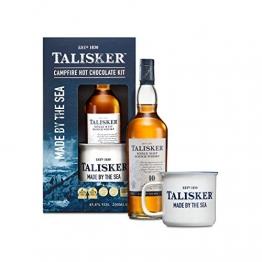 Talisker Single Malt Scotch Whisky 10 Years Hot Chocolate Geschenkset, Alkohol, Flasche, 45.8%, 200 ml, 761866 - 1