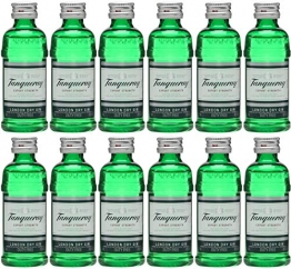 Tanqueray London Dry Gin 5cl Miniature - 12 Pack - 1