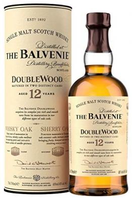 The Balvenie Doublewood Single Malt Scotch Whisky 12 Jahre mit Geschenkverpackung (1 x 0,7 l) - 1