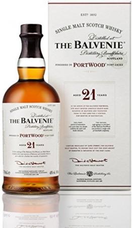The Balvenie Portwood Single Malt Scotch Whisky 21 Jahre mit Geschenkverpackung (1 x 0,7 l) - 1