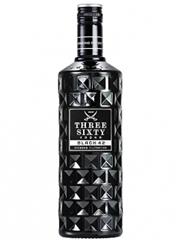 Three Sixty Black 42 Vodka 1,0 Liter - 1