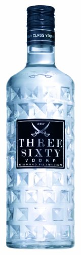 Three Sixty Wodka 6 x 1 Liter Sparpaket Vodka - 1