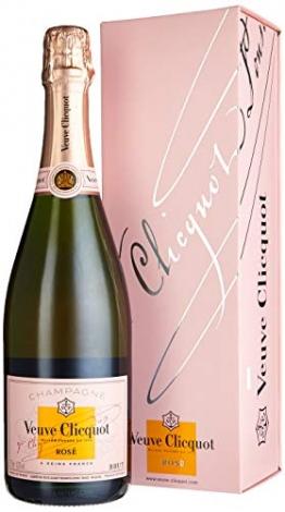 Veuve Clicquot Rosé Champagner mit Geschenkverpackung (1 x 0.75 l) - 1