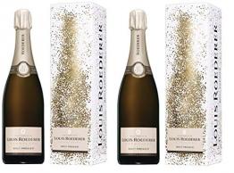 Champagne Louis Roederer Champagner aus Frankreich 2er Sparpack Brut Premier Design Kollektion (2 x 0,75 Liter) - 1