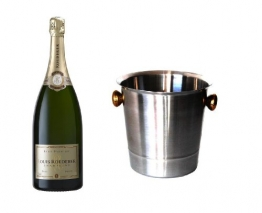 Louis Roederer Champagner Premier Brut im Champagner Kühler 12% 0,75l Fl. - 1